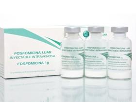 Fosfomicina Luar 1g/10ml Inyectable I.V